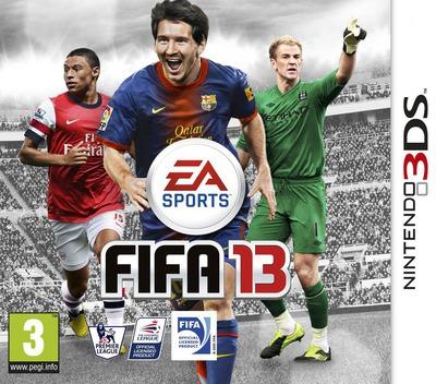 FIFA 13 3DS coverM (AF8P)