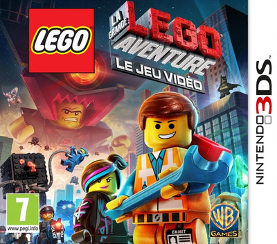 The LEGO Movie Videogame 3DS coverM (AFJF)