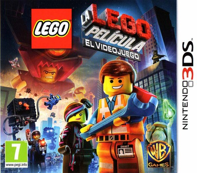 The LEGO Movie Videogame 3DS coverM (AFJS)