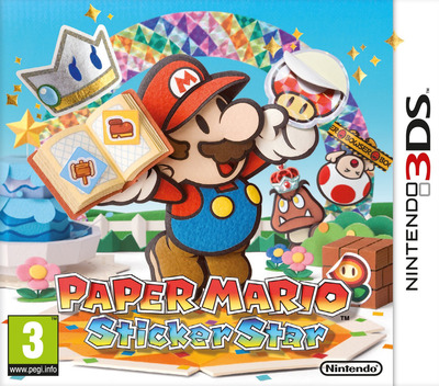 Paper Mario - Sticker Star 3DS coverM (AG5P)