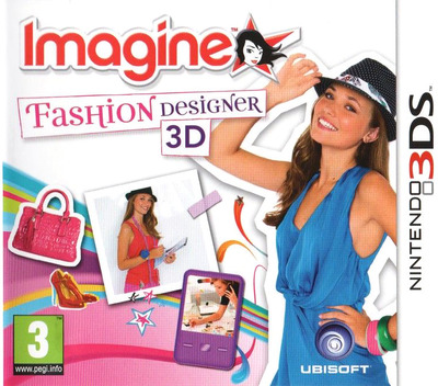 Imagine - Fashion Designer 3D 3DS coverM (AGUP)