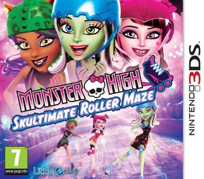 Monster High - Skultimate Roller Maze 3DS coverM (AH5P)