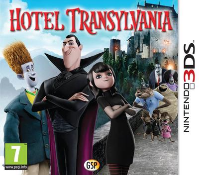 Hotel Transylvania 3DS coverM (AH8P)