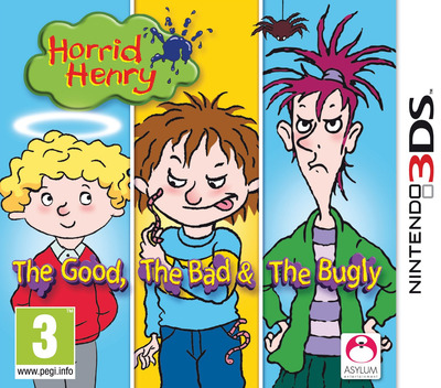 Horrid Henry - The Good, the Bad & the Bugly 3DS coverM (AHHP)