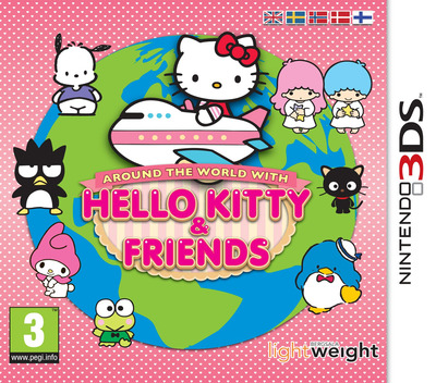 Around the World with Hello Kitty & Friends 3DS coverM (AHKZ)