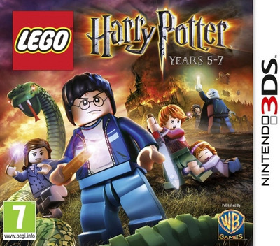 LEGO Harry Potter - Years 5-7 3DS coverM (AHPP)