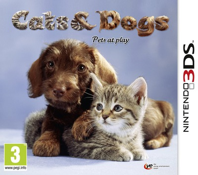 Cats & Dogs - Pets at Play 3DS coverM (AHUP)