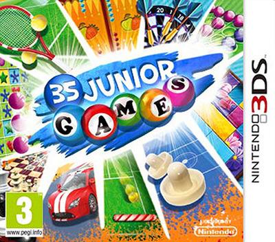 Junior Games 3D 3DS coverM (AJCP)