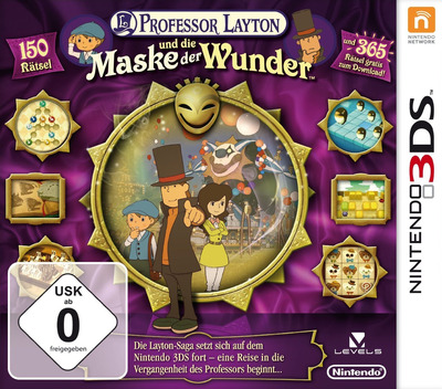 Professor Layton und die Maske der Wunder 3DS coverM (AKKD)