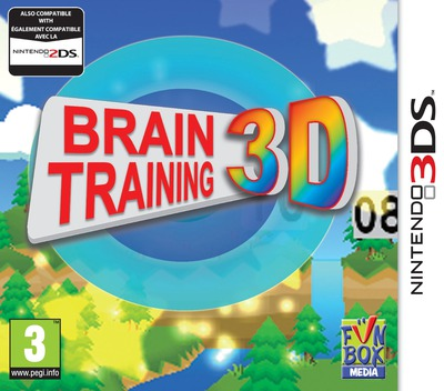 Brain Training 3D 3DS coverM (AKTP)