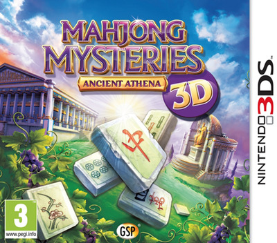 Mahjong Mysteries - Ancient Athena 3D 3DS coverM (AM5P)