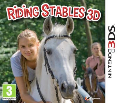Riding Stables 3D 3DS coverM (AMUP)