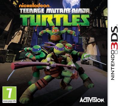 Nickelodeon Teenage Mutant Ninja Turtles 3DS coverM (ANYP)