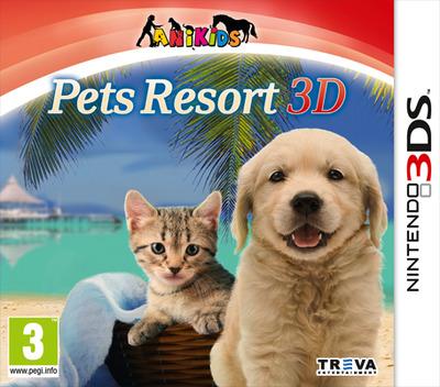 Pets Paradise Resort 3D 3DS coverM (AP3P)