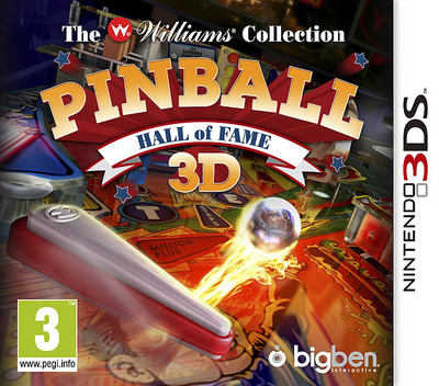 Pinball Hall of Fame 3D - The Williams' Collection 3DS coverM (APBP)