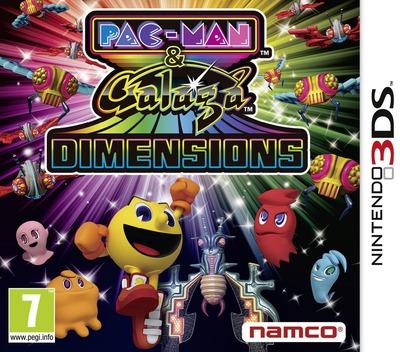 Pac-Man & Galaga Dimensions 3DS coverM (APGP)