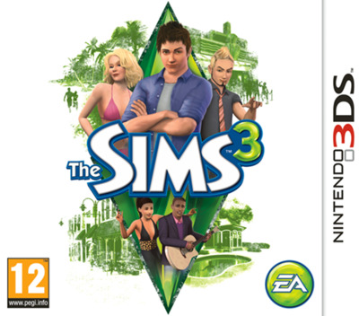 The Sims 3 3DS coverM (AS3P)