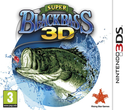 Super Black Bass 3D 3DS coverM (ASBP)