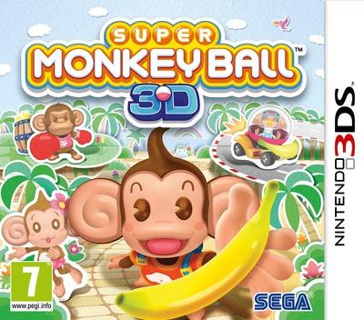 Super Monkey Ball 3D 3DS coverM (ASMP)