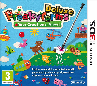 Freakyforms Deluxe - Your Creations, Alive! 3DS coverM (ATQP)