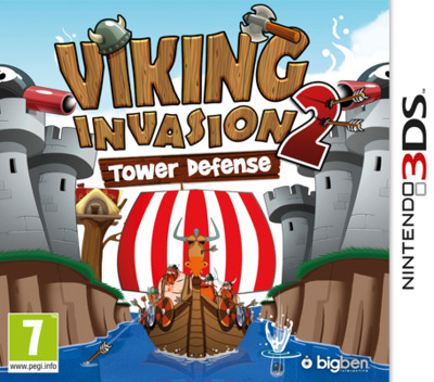 Viking Invasion 2 - Tower Defense 3DS coverM (AVKP)