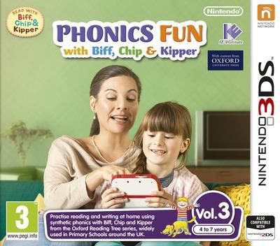 Phonics Fun with Biff, Chip & Kipper Vol. 3 3DS coverM (AX3P)