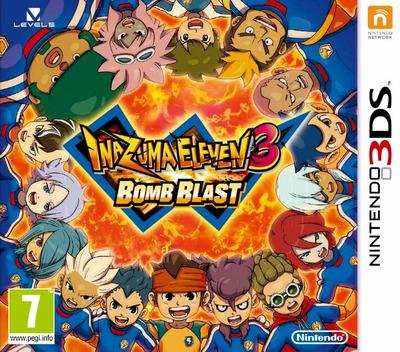 Inazuma Eleven 3 - Bomb Blast 3DS coverM (AXBZ)