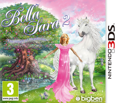 Bella Sara 2 3DS coverM (AY7P)