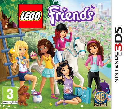LEGO Friends 3DS coverM (AZJP)