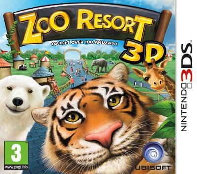 Zoo Resort 3D 3DS coverM (AZOP)