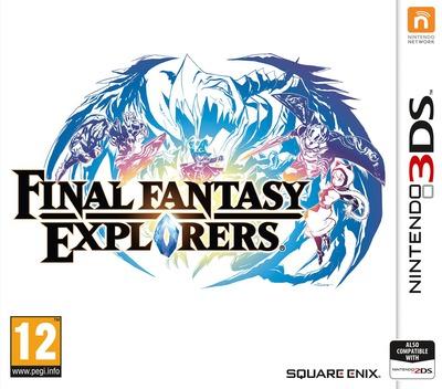 Final Fantasy Explorers 3DS coverM (BCEP)