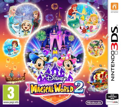Disney Magical World 2 3DS coverM (BD2P)