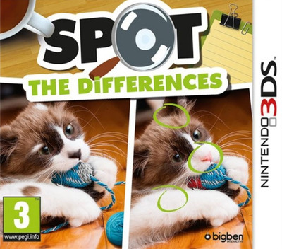 Spot the Differences 3DS coverM (BDFP)