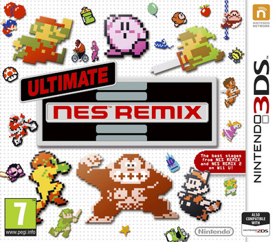 Ultimate NES Remix 3DS coverM (BFRP)