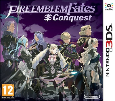 Fire Emblem Fates - Conquest 3DS coverM (BFYP)