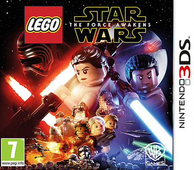 LEGO Star Wars: The Force Awakens 3DS coverM (BLWP)