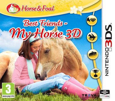 Best Friends - My Horse 3D 3DS coverM (BMEP)