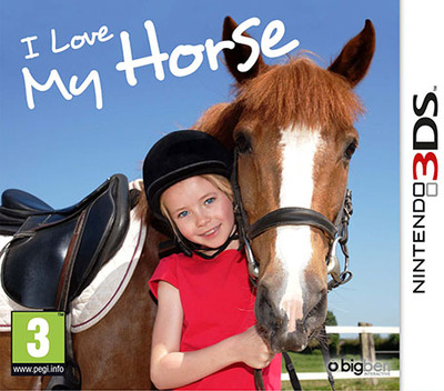 I Love My Horse 3DS coverM (BMHP)