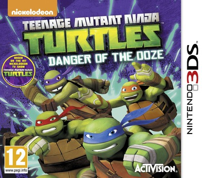 Teenage Mutant Ninja Turtles - Danger of the Ooze 3DS coverM (BMUP)