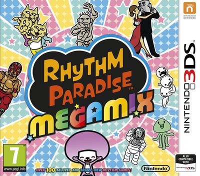Rhythm Paradise Megamix 3DS coverM (BPJP)