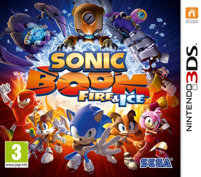 Sonic Boom: Fire & Ice Array coverM (BS6P)