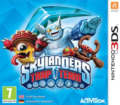 Skylanders Trap Team 3DS coverM (BS9P)
