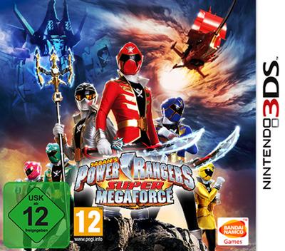 Power Rangers - Super Megaforce 3DS coverM (BSSP)