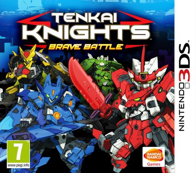 Tenkai Knights - Brave Battle 3DS coverM (BTKP)