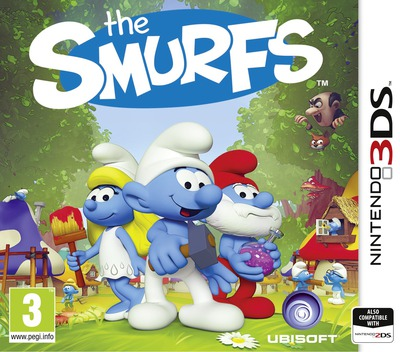 The Smurfs 3DS coverM (BUSP)