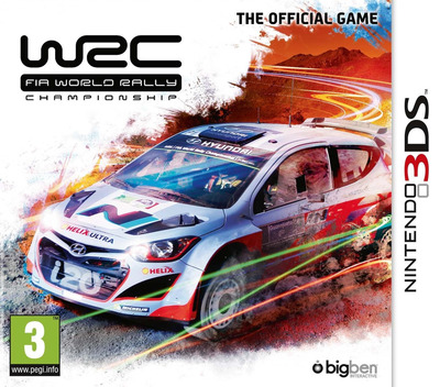 WRC - FIA World Rally Championship 3DS coverM (BWRP)