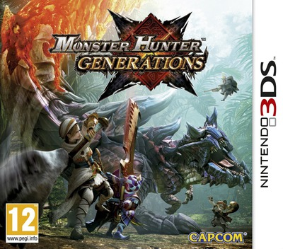 Monster Hunter Generations 3DS coverM (BXXP)