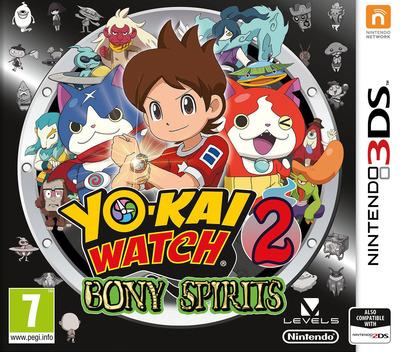 Yo-Kai Watch 2: Bony Spirits 3DS coverM (BYGP)