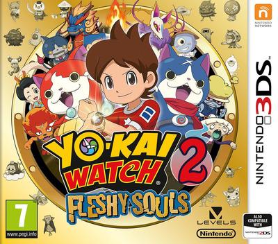 Yo-Kai Watch 2: Fleshy Souls 3DS coverM (BYHP)