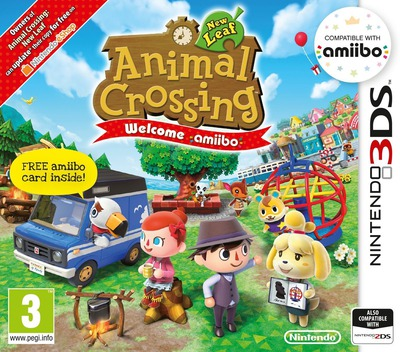 Animal Crossing: New Leaf - Welcome amiibo 3DS coverM (EAAP)